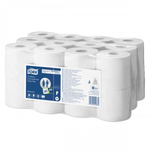 Tork Coreless Conventional Toilet Roll 2ply 50mtr (Pack of 24)