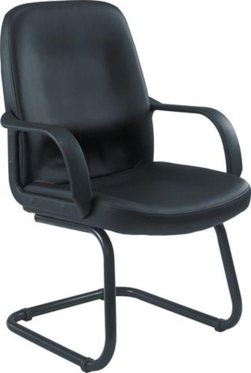 Castana Leather Faced Look Visitor Chair - CH0766