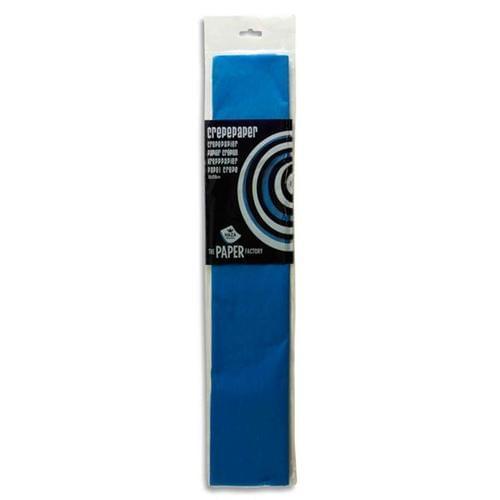 Crepe Paper 250cm x 50cm - Blue