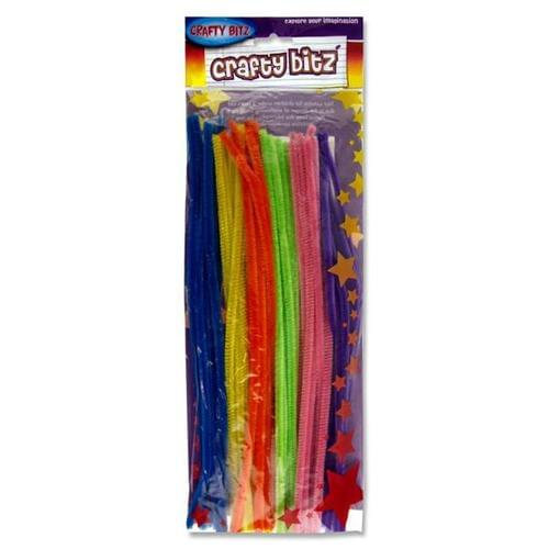 Crafty Kidz Pipe Cleaners 50 PK -  Assorted Colours