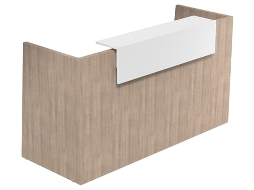 SOVE Reception Desk W1900mm Counter Top Choice of Finishes