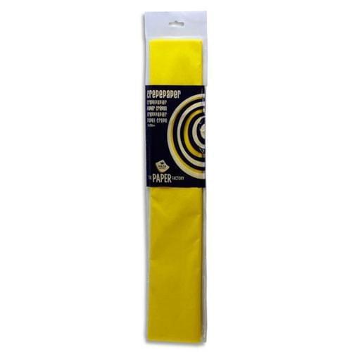Crepe Paper 250cm x 50cm - Yellow