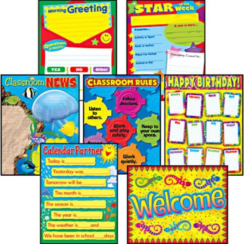 Chart Combo Pack Morning Meeting Management