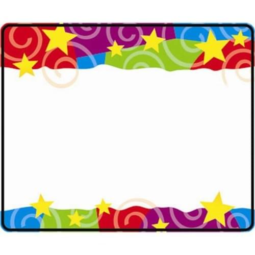 Name Tags - Stars & Swirls