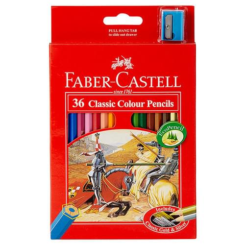 Faber Castell - Full Size Colouring Pencils (pack of 36)