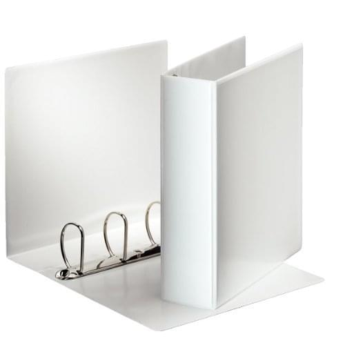 4D Ring Presentation Binder White 65mm ring, 90mm Spine Capacity