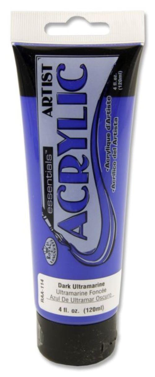 Icon Acrylic Paint 120ml Ultra Marine Blue