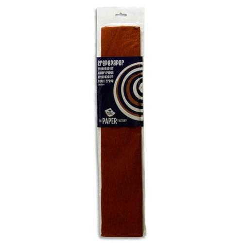 Crepe Paper 250cm x 50cm - Brown