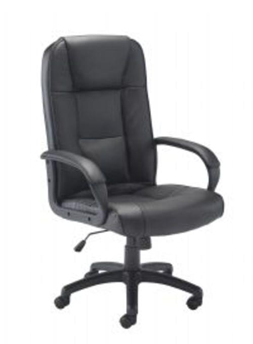 Keno Leather Faced Operators Chair