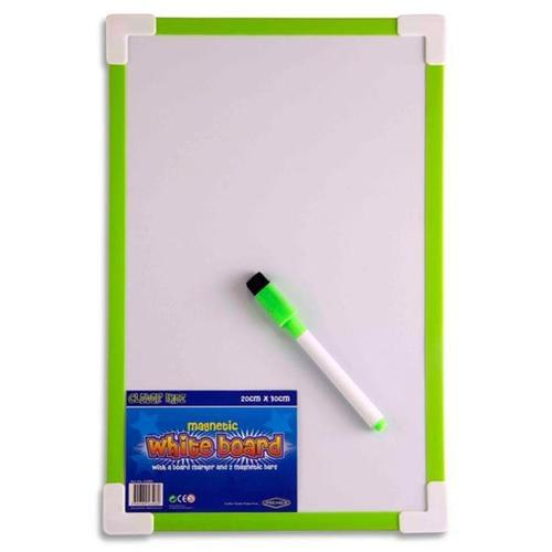20x30cm (A4) Magnetic Whiteboard 4 Assorted Colours (Pack of 12)