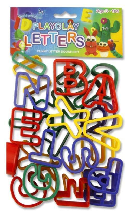 Alphabet Cut Out Shapes