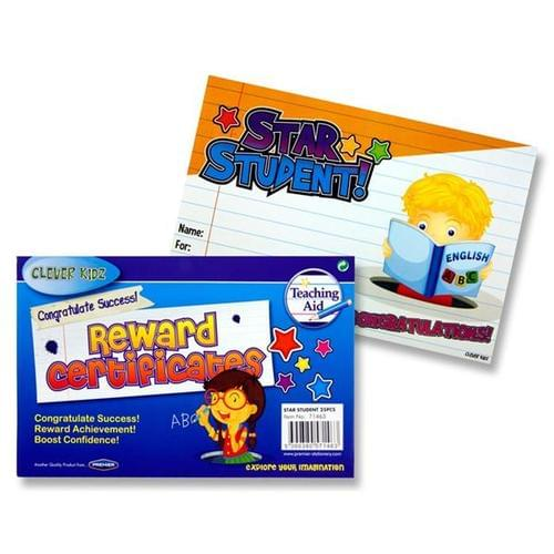 Star Student Certificates (Pack of 25)
