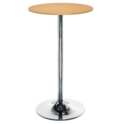 Beech High Canteen breakfast Room table D600 x H1045mm