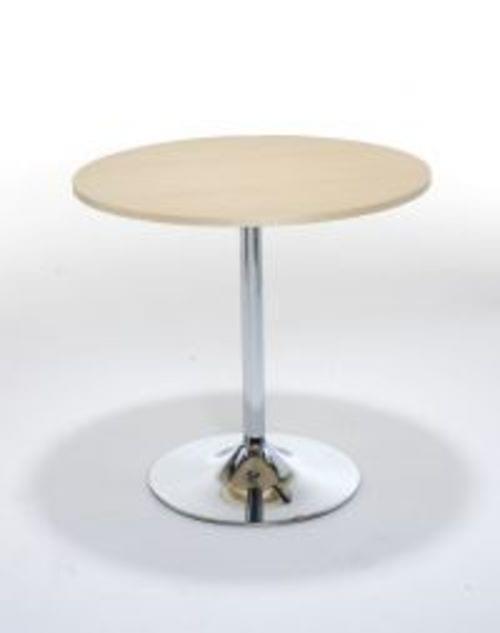 Beech Bistro Trumpet Table D800mm * H740mm