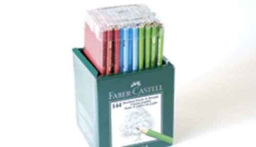 Faber-Castell Winner Pencils Box set 144 Pencils
