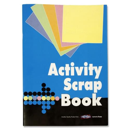 32 page ACTIVITY SCRAPBOOK