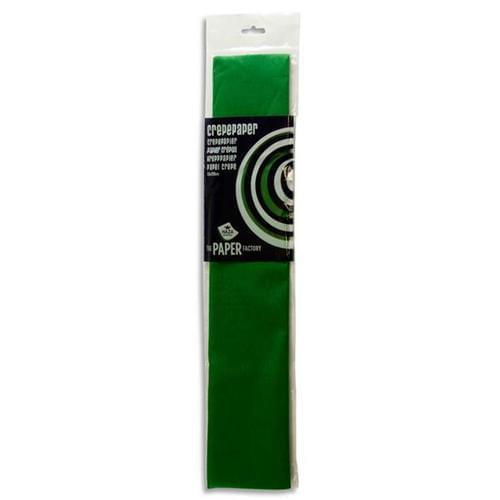 Crepe Paper 250cm x 50cm - Dark Green
