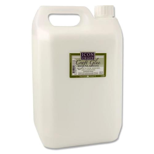 ICON PVA CRAFT GLUE - 5ltr