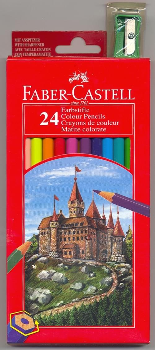 Faber Castell - Full Size Colouring Pencils (pack of 24)