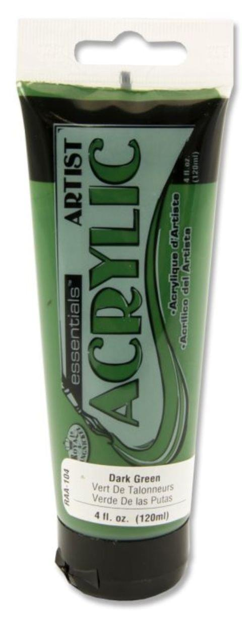 Icon Acrylic Paint 120ml Dark Green