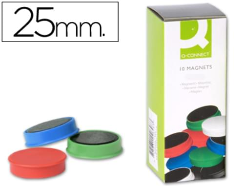 Whiteboard Magnets (Pack of 10) Assorted Colours