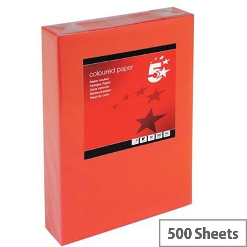Red Paper 500 sheets