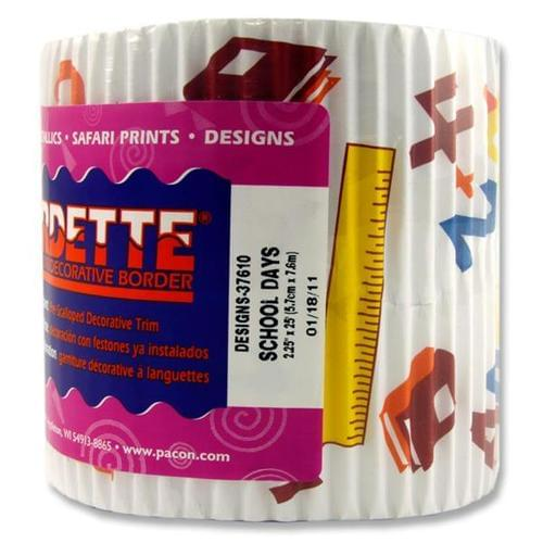 BORDETTE BORDER 57mm x 7.6m - SCHOOL DAYS