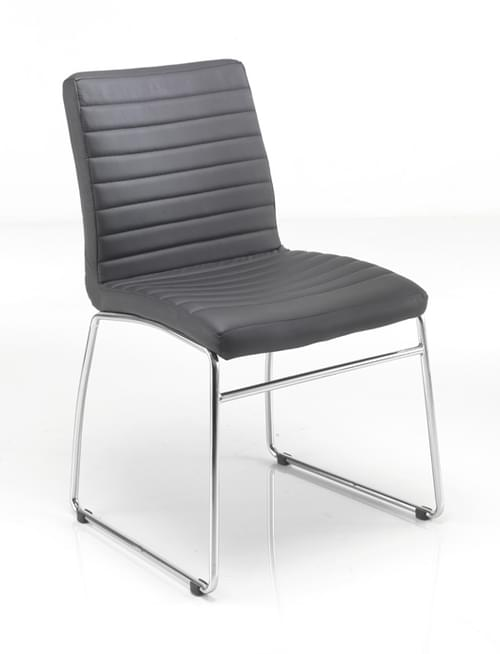 Lazio Leather Look Meeting Chair - CH0234