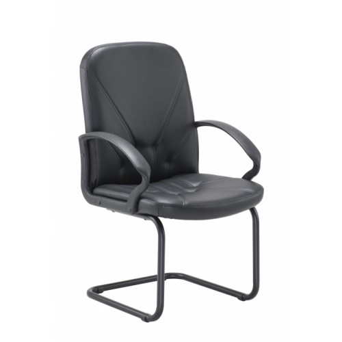 Grand Slam Leather Look Visitor Chair