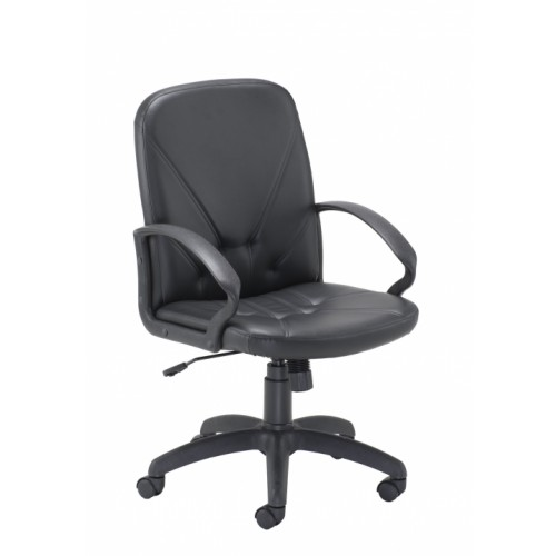 Mid Back Grand SLAM Chair LEATHER-LOOK
