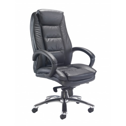 Montana Black Leather Executive Office Chair
