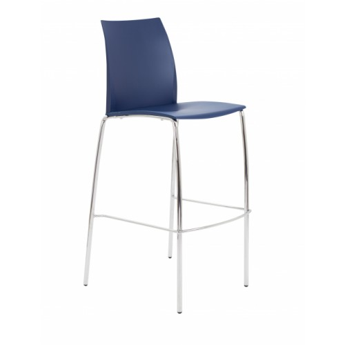 ADAPT 4 Leg High Chair - Blue