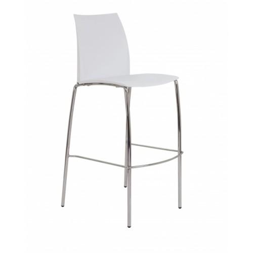 ADAPT 4 Leg High Chair - White