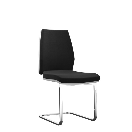 Rome Visitor | Fabric Chair with Cantilever Frame