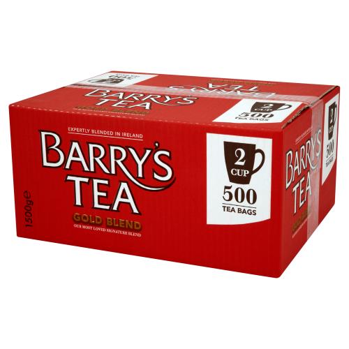 Barrys Gold Blend Tea Bags 2 Cup 500s