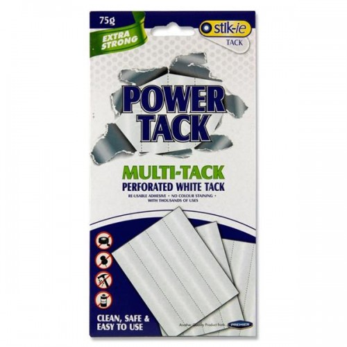 Stik-ie 75g Power Tack - White