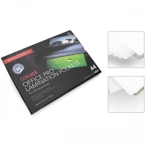 Concept Pkt.100 A4 Office Pro Laminating Pouches