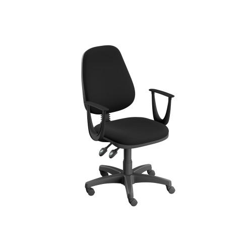OX Series High Back Operator Office Chair - Black