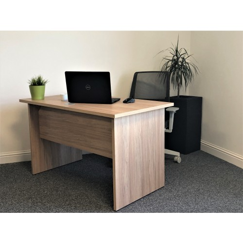 New Urban Oak Home Office Desk 1200x700 mm