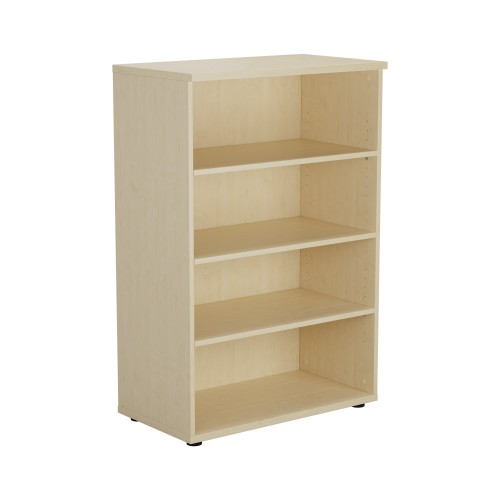 1200 High Bookcase 3 Shelf - Maple