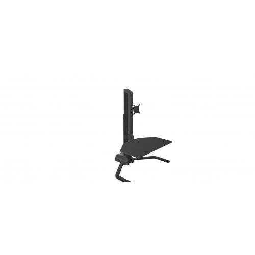 Xtend Desk Converter Single Monitor Arm Black