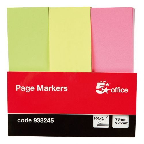 Index Tabs and Page Markers