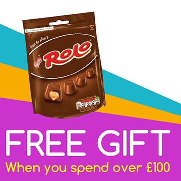 free gift £100