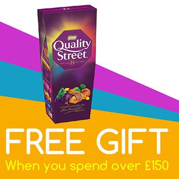 free gift £150