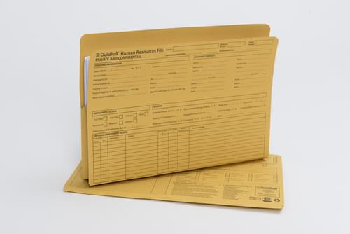 Guildhall Human Resources Personnel Wallet Yellow 211/1300Z (pk50)