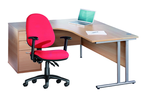 Corner Desk, Set Of Drawers And Office Chair Offer