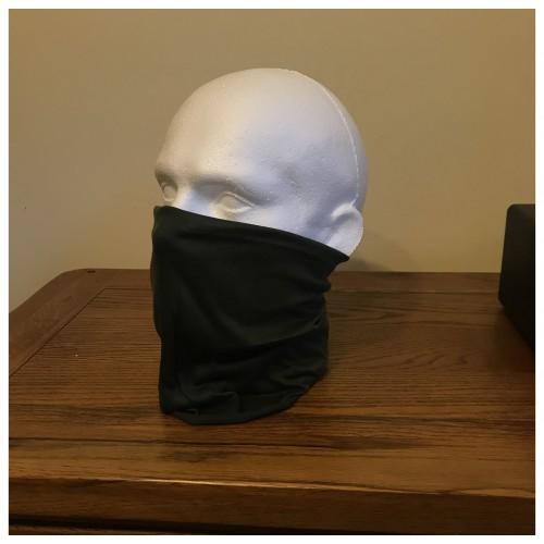 Multi-purpose, Snood, Face Covering, Head Tube Dark Green
