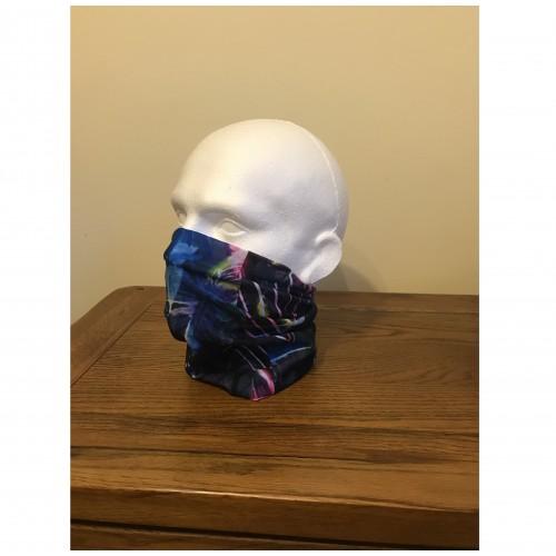 Multi-purpose, Snood, Face Covering, Head Tube Multi Coloured Design