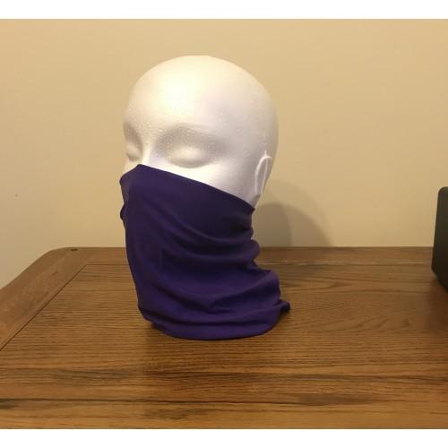 Multi-purpose, Snood, Face Covering, Head Tube Purple