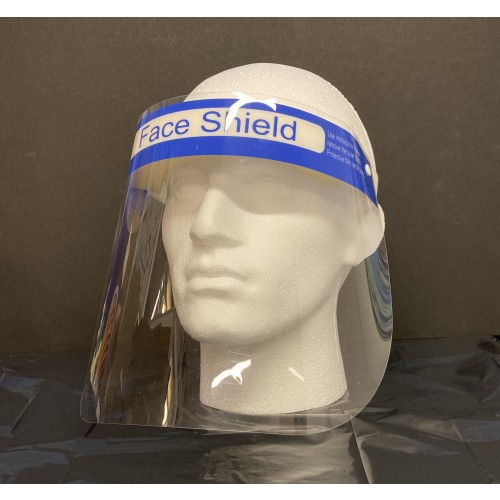 Face shield With Foam Headband